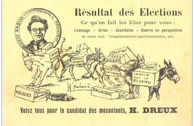 ELECTIONS-CANDIDAT DES MECONTENTS.