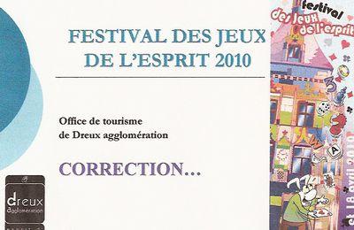 QUIZ JEUX DE L'ESPRIT 2010 REPONSES QUESTIONS 21A 30.