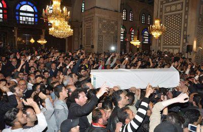 Les obsèques du cheikh Ramadhan Saïd Al Bouti