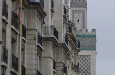 photo de la mosquée de paris