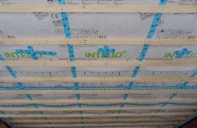 26/27/28 Mars 2010 - Isolation du plafond -