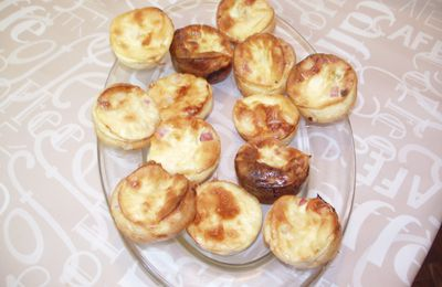 Mini quiches sans pate (Lise).