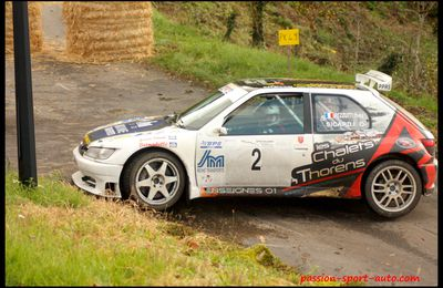 17ème rallye du Cantal 2012 (Yves Pezzutti de main de maître)
