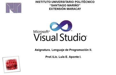 INFORMACIÓN MICROSOFT VISUAL STUDIO