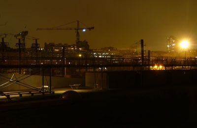 Paris by night - chantiers