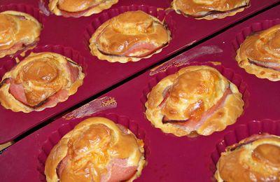 Cakes bacon et comte