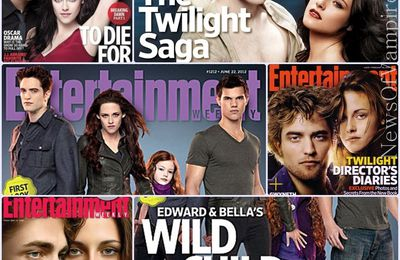 Twilight Saga: L'hommage d'Entertainment Weekly
