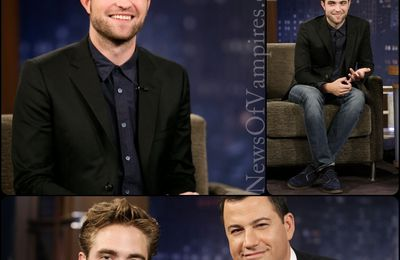 Robert Pattinson: Jimmy Kimmel Show