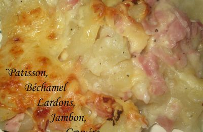Gratin de patisson