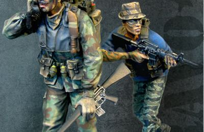 New vietnam figures from Bravo6
