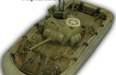 Sherman Duplex Drive : model completed