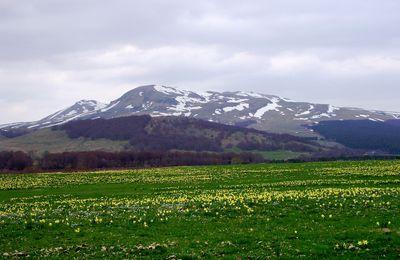 Auvergne à vélo printemps dans le Sancy