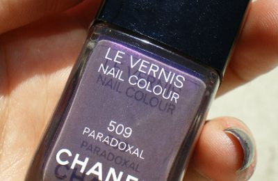 Review photos: Chanel le vernis 509 Paradoxal