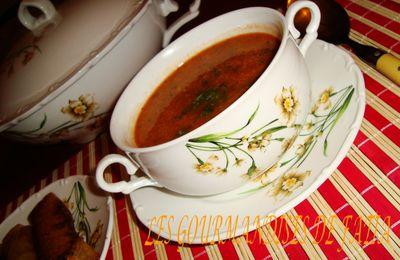 Hrira (soupe de légumes)