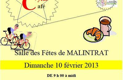 Cyclo café à Malintrat