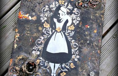 Toile Alice in wonderland n°1