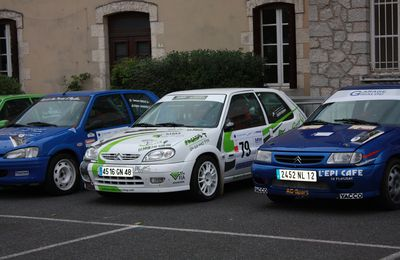RALLYE DES 100 VALLEES 2011