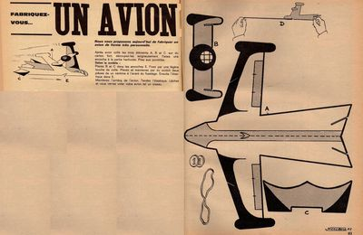 L'avion selon pif
