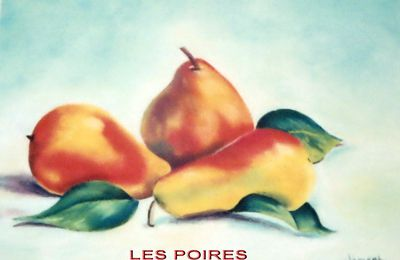 LES FRUITS AU PASTEL SEC