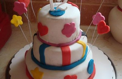 Mon tout premier Wendy's cake pour l'anniversaire de ma Nini