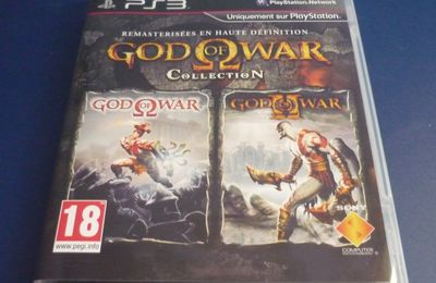 [Achat] God of War Collection sur PS3