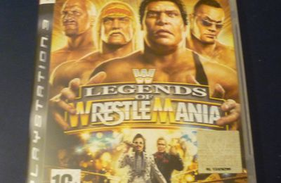 [Achat] WWE Legends of Wrestlemania sur PS3