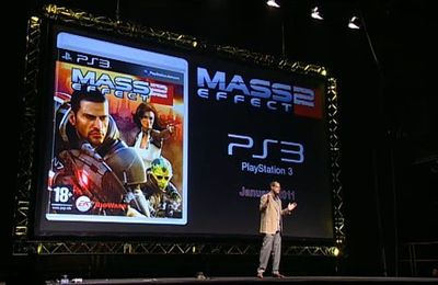 GC 2010 : Mass Effect 2 sur PS3 !