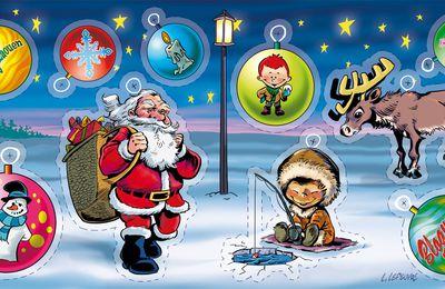 Poster à découper Spécial Noël