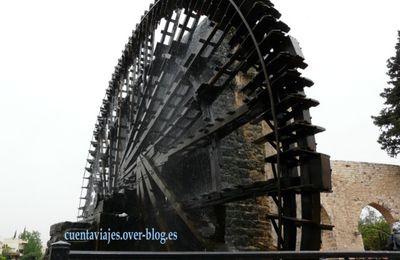 17. Recuerdos de mujer de las gigantes norias de Hama