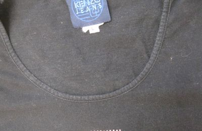 KENZO tee shirt noir taille L