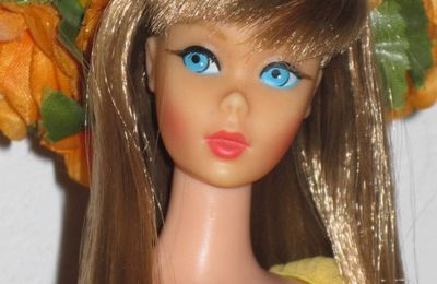 Ma merveilleuse Barbie Twist and Turn 1968