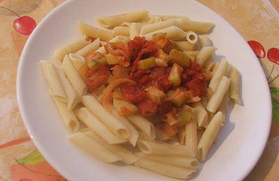 Pâtes à la sicilienne