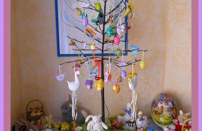 Décos de Pâques ensoleillées!!!!...