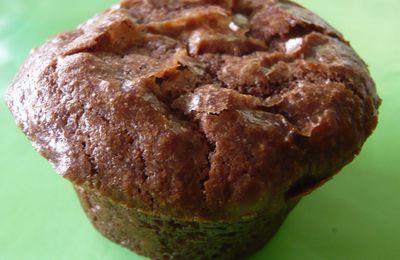 """Brownie vegan tout simplement excellent ! (sans oeuf, sans lait de vache) pour ma participation au concours """"chasse aux oeufs"""""""