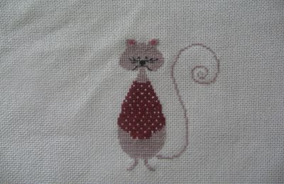 Broderie Chats