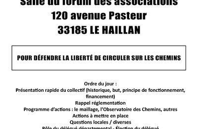 AG Codever Gironde jeudi 3 mai
