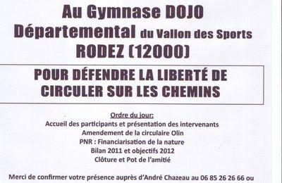 AG Codever Aveyron vendredi 24 février 2012