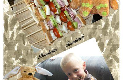 Brochettes Sandwich