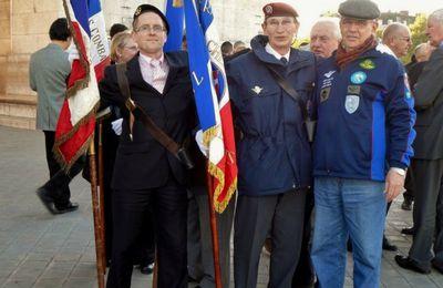 Vétérans Paras du Brésil-Saint Michel 2 octobre 2010 à Paris.(rencontre)