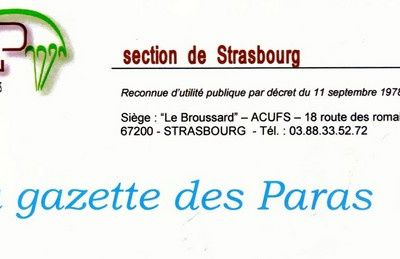 2011-Section UNP de Strasbourg-La gazette des Paras nr 2.(pdf)