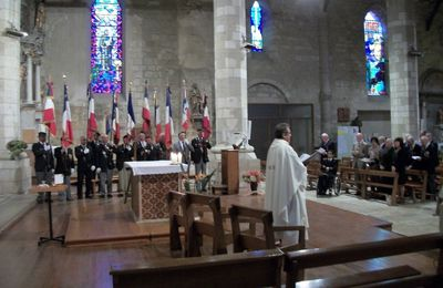 2011-Section UNP du Gers-Commémoration de la Saint Michel.
