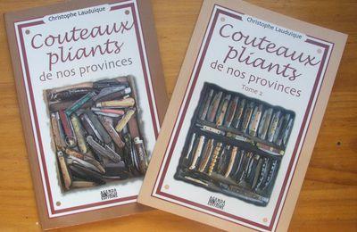 """""""Couteaux pliants de nos provinces"""" : réédition !"""
