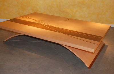 Table basse design Arc