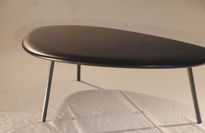 Table basse design Galet, lumineuse