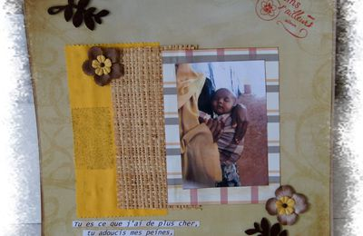 Deux pages pour Give Your Scrap.....
