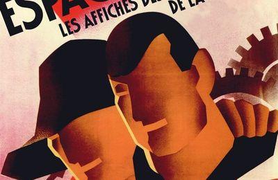 """Spagna anarchica e libertaria. Gli autori dei manifesti della Rivoluzione spagnola 1936- 1939, da: """"Increvables Anarchistes""""."""