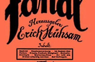 """Antologia. Erich Muhsam, Dov'è il Ziegelbrenner? A proposito di Ret Marut / B. Traven, da: """"Fanal"""", 1927."""
