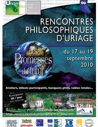 Les conférences des Rencontres Philosophiques d'Uriage 2010