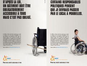 L'APF appelle à manifester le 27 septembre pour l'accessibilité des bâtiments publics à tous