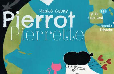 Gratuite : une application pleine de délicatesse et de poésie : Pierrot et Pierrette de Nicolas Gouny. Dès 3 ans.
